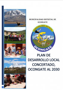 PLAN DE DESARROLLO LOCAL CONCERTADO