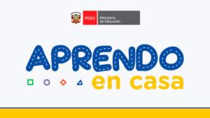 """NOTA DE PRENSA """"APRENDO EN CASA"""""""