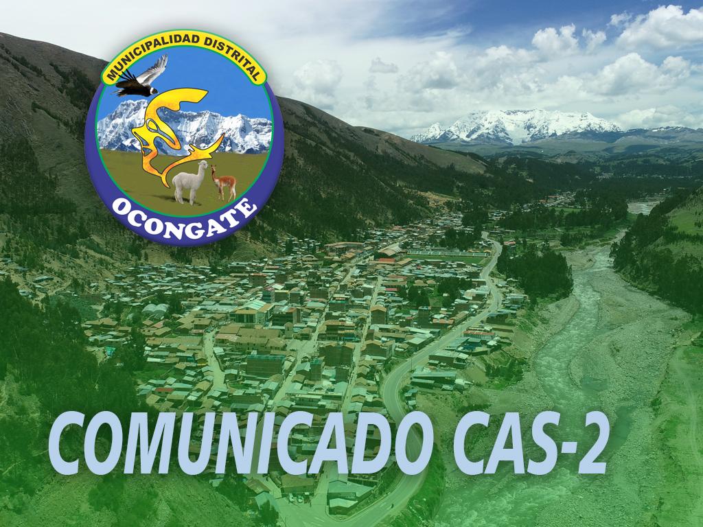COMUNICADO CAS 2021-2